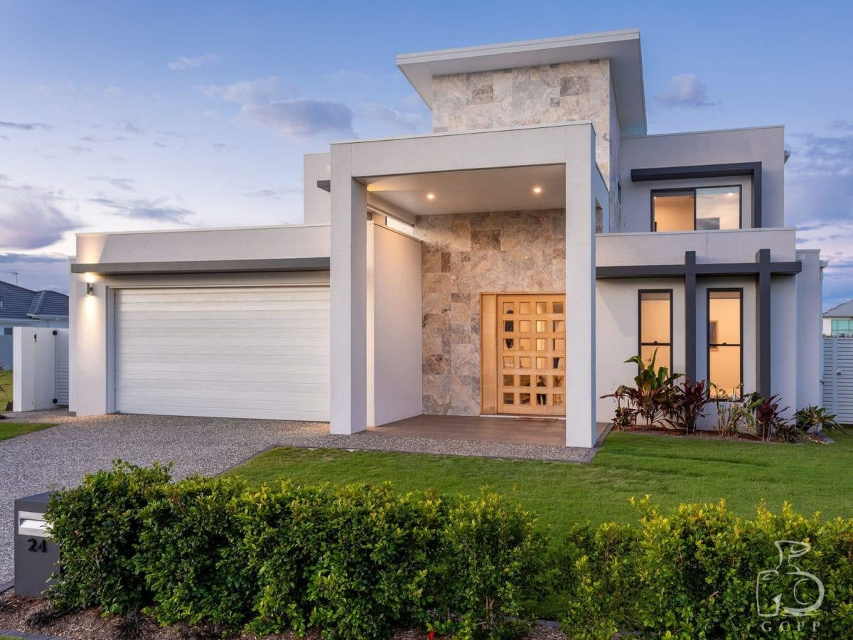 Custom New Build, Jacobs Well Pimpama - Gold Coast Property Photography